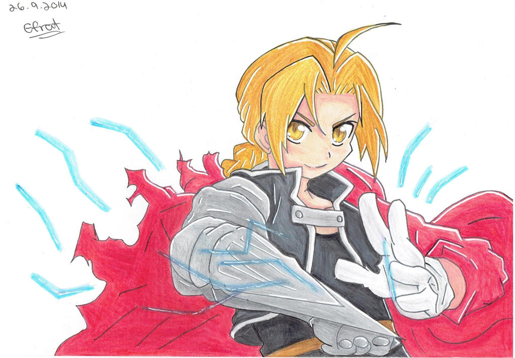 Edward Elric by GeekyEffy