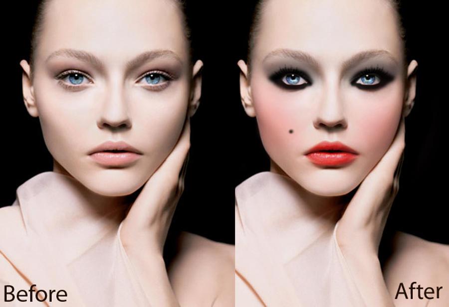 Αποτέλεσμα εικόνας για photoshop make up