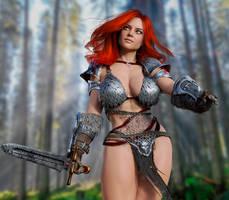 Red Sonja #7 by NejanZuq