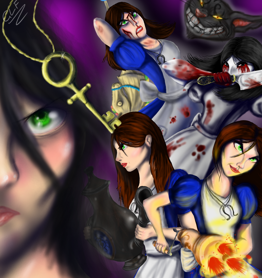 Alice Madness Returns by GingaLoverFin