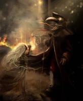 Pestilence meets Doctor by Borbel