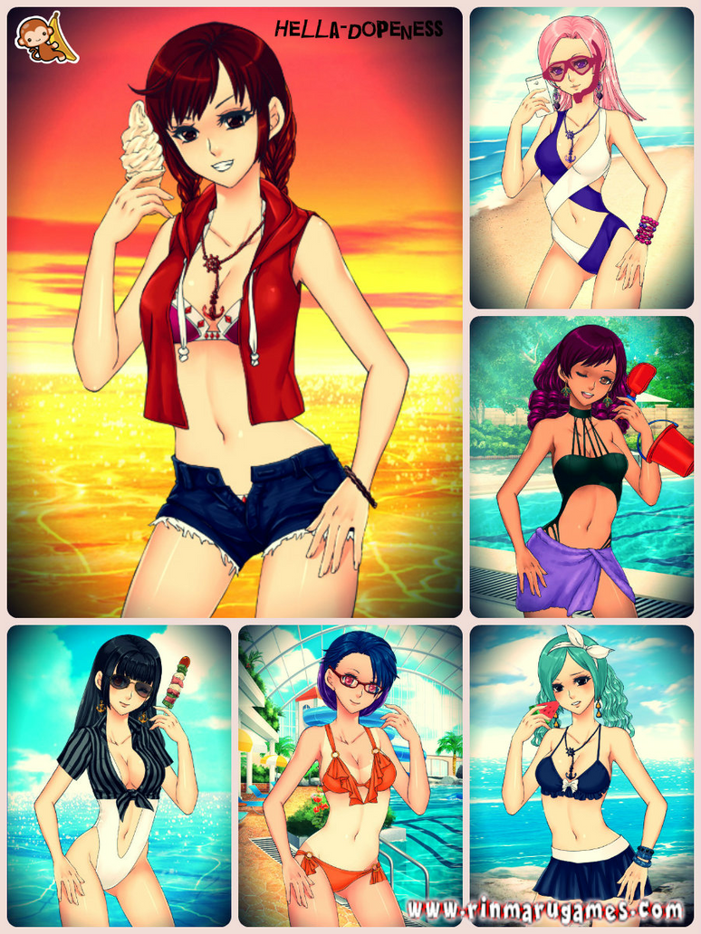 Anime Summer Dress-up Game by Hella-Dopeness on DeviantArt