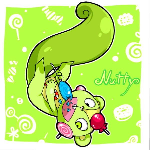Happy Tree Friends - Nutty by mizudokei on DeviantArt Happy Tree Friends Wallpaper Nutty