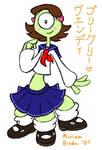 Schoolgirl Pleakley