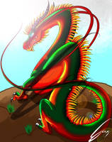 Chinese Dragon by avpke
