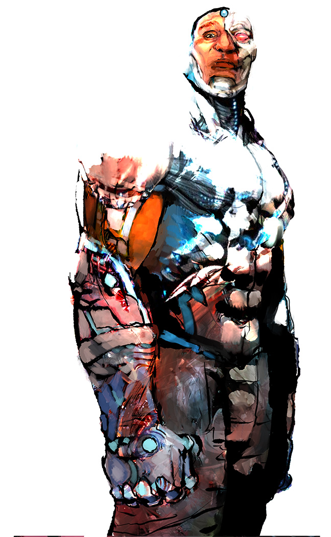 Cyborg by Wingthe3rd