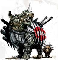 Ecko rhino tank by Wingthe3rd