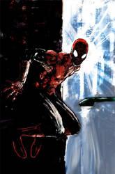 spidermaninthedark by Wingthe3rd