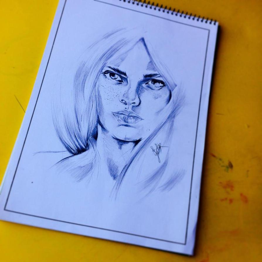 my  sketch2 by AKABedlam