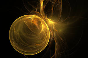 golden ball by shineout-fractals