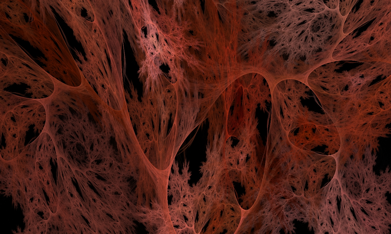 Fire Cobweb by shineout-fractals