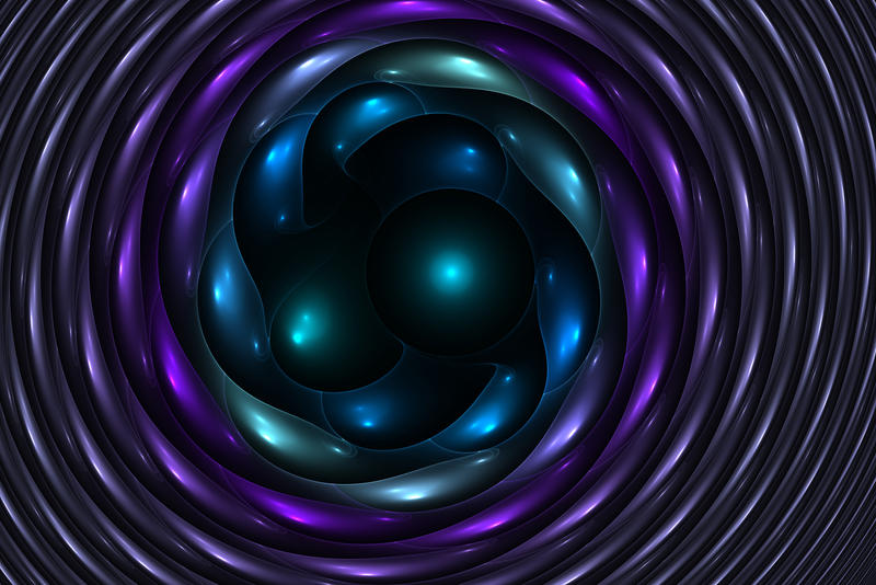 Blue eggs by shineout-fractals