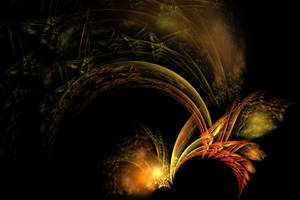 Feathers Of Gold and Fire by shineout-fractals