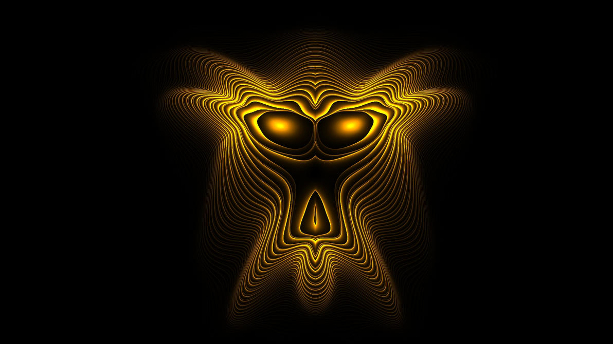 3D Mask by shineout-fractals