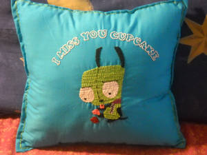GIR Embroidered Pillow