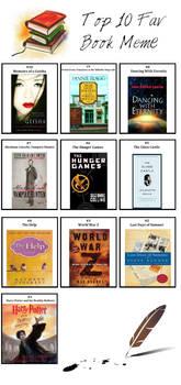 Top 10: My Favorite Books Meme