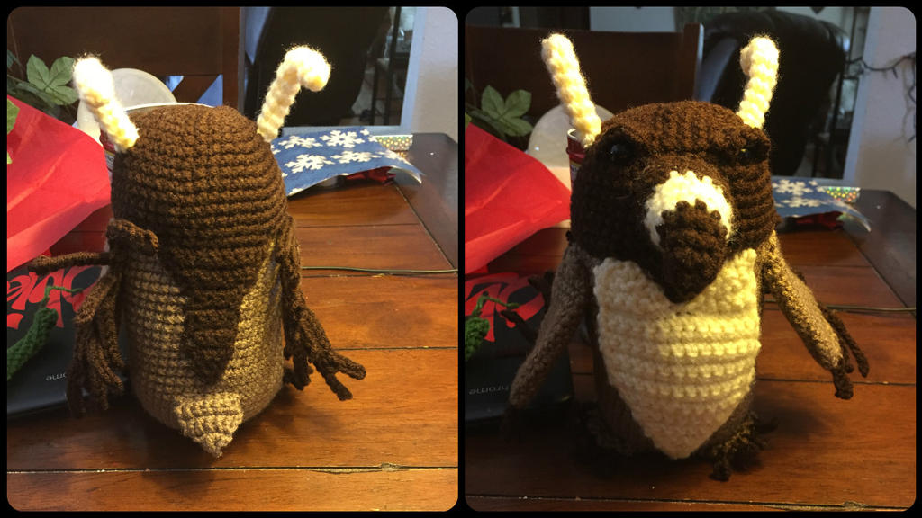 World Of Amigurumi : Moonkin Amigurumi (World of Warcraft) by ElleDOS on DeviantArt