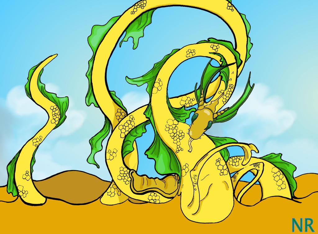 Virgo dragon redesign by MilkToothCuts