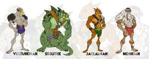 Mutants of Plun-Darr