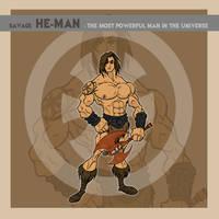 Savage He-Man by thejason10