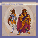 Chief Carnivus and Kittrina