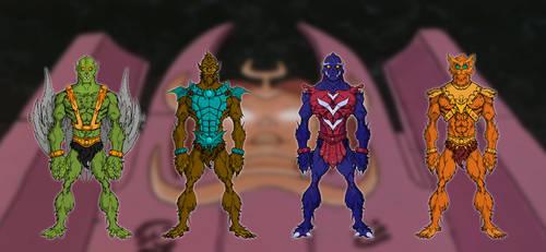 Fuerza-T Villains by thejason10