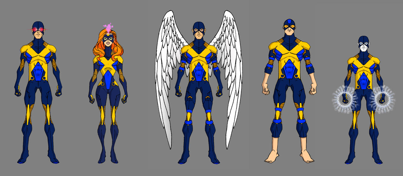X-Men - Uniform Variants (First Class)