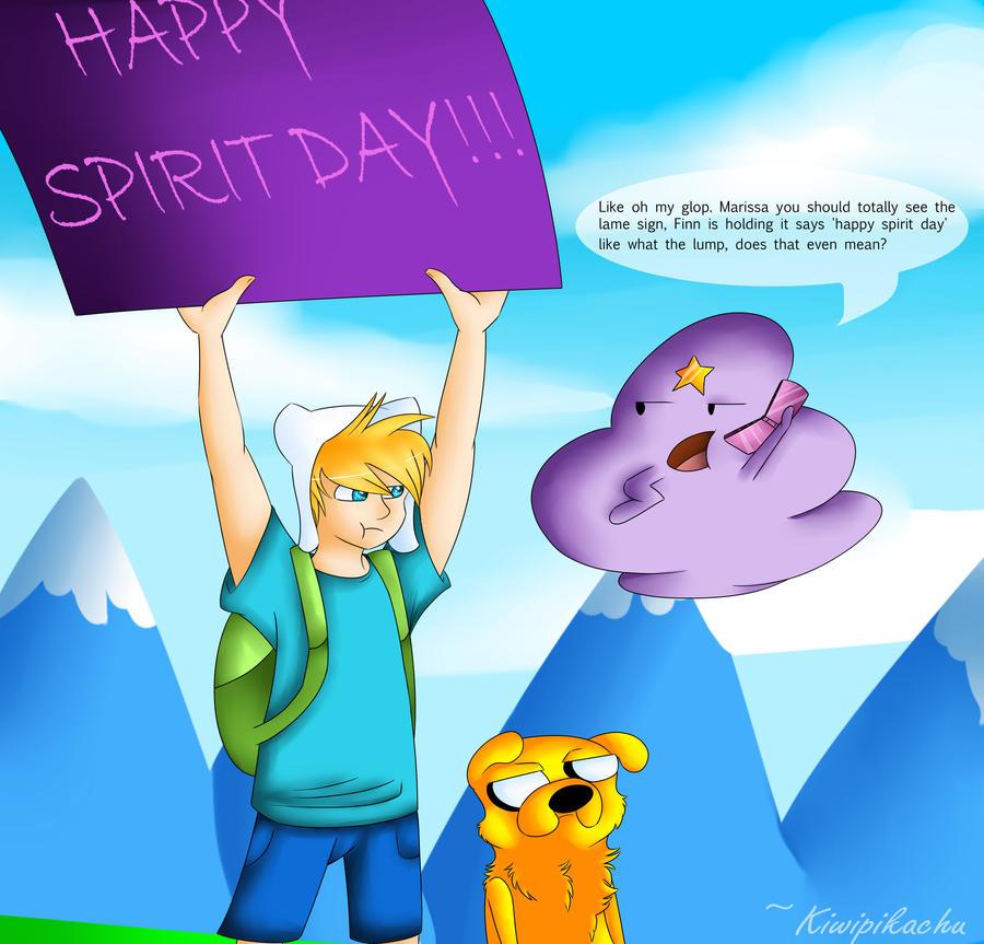 Uhhhh Happy Spirit day? by KiwiPikachu