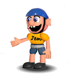 Adventure Jeffy by aidenmoonstudios