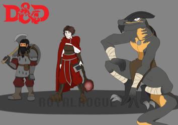 DnD OG Squad by TehDarkPrincess