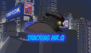 Tracking Mr. Q Poster by Shockdingo