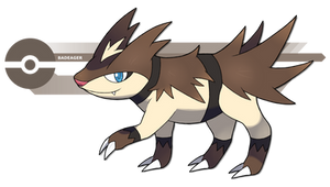 The Ratel Pokemon by Pokedro