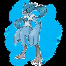 Pokemon: P/E/N Articuno Corporeal Form by Pokedro