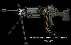 M249 Squad Automatic Weapon by d00m3d-d00d