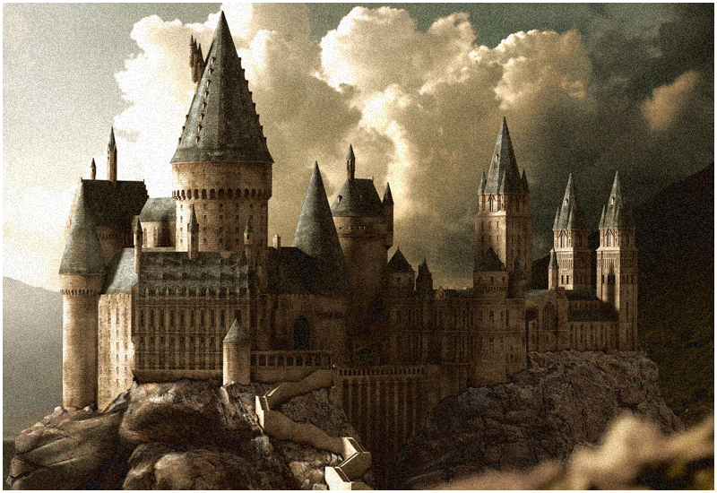 Hogwarts by fangdarien