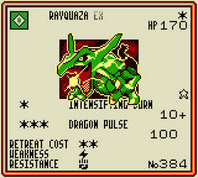 Rayquaza (Roaring Skies #75) by wittycrow