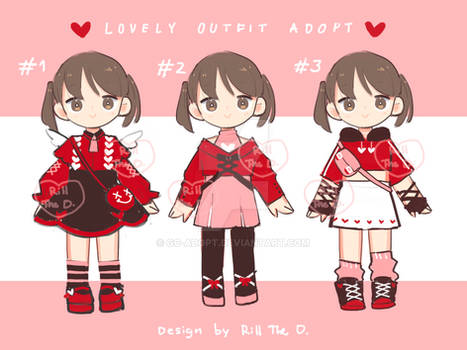 Lovely OUTFIT adopt[OPEN]