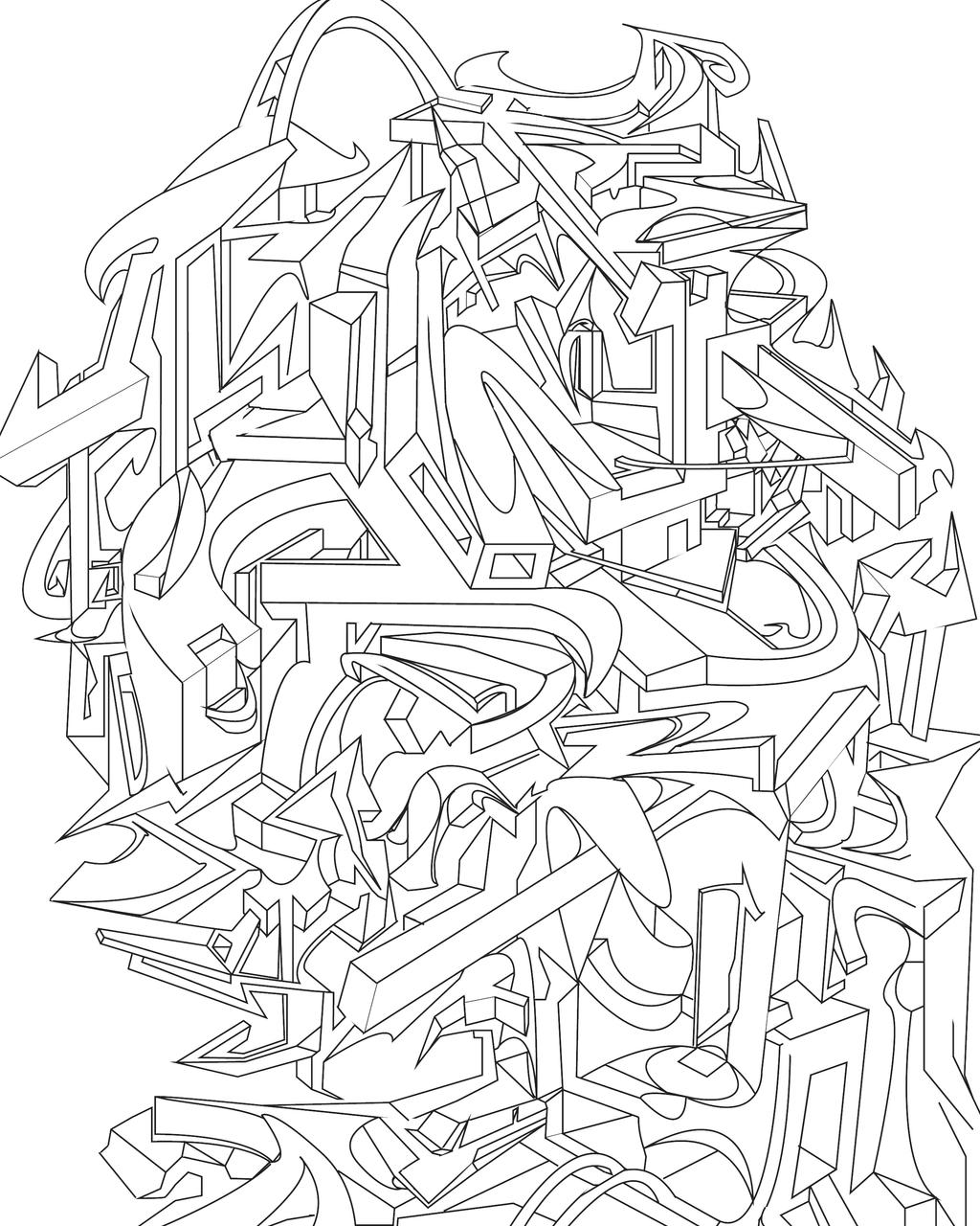 Line Art Design Abstract : Abstract line art by brandon montrone on deviantart