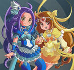 Cure Beat and Cure Muse