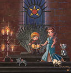 Game of Thrones: Tommen Baratheon and Margaery