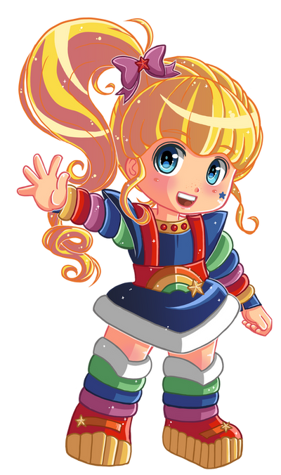 Commission :: Rainbow Brite 8/8 - Rainbow Brite by Hadibou