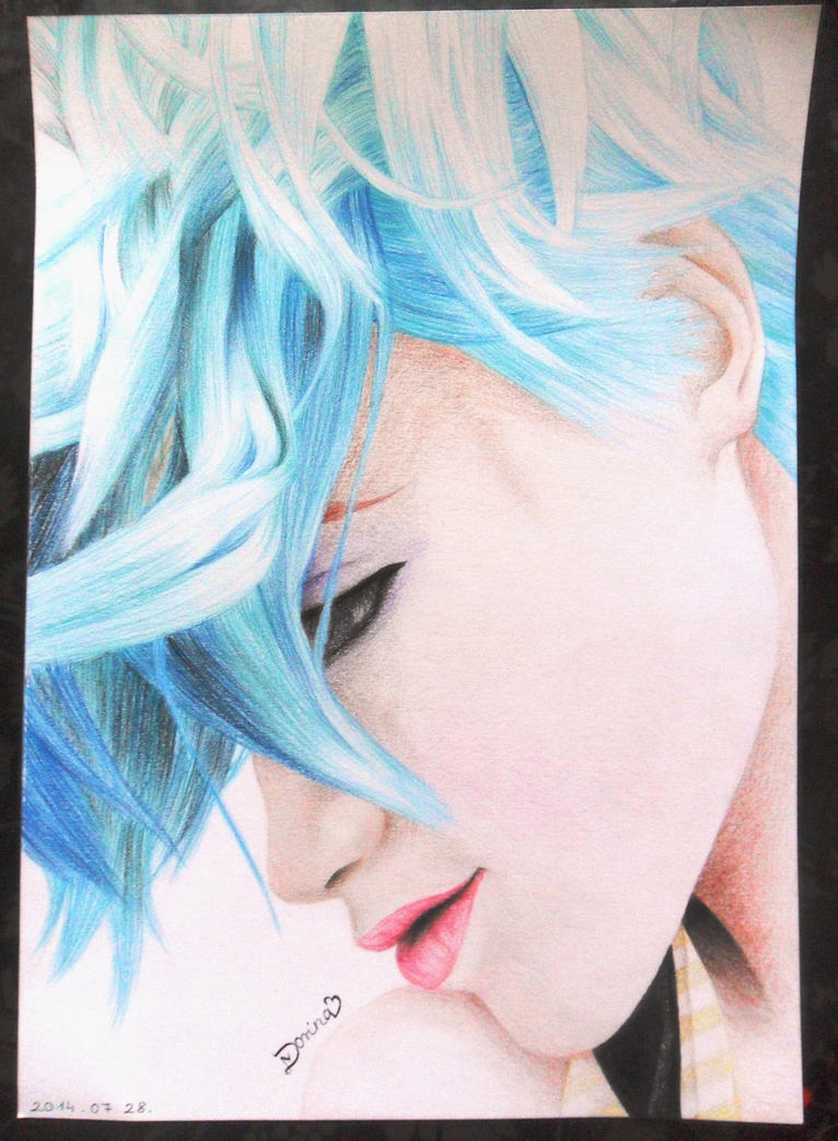 Hayley Williams blue hair by Sunlight-princess