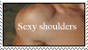 Sexy Shoulders Stamp by sad-rosesstock