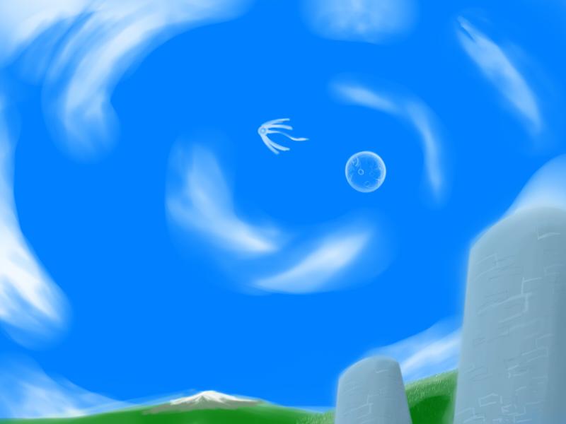 Painting Gallery Flow_in_the_sky_by_ekographartsign-d2yy7iz