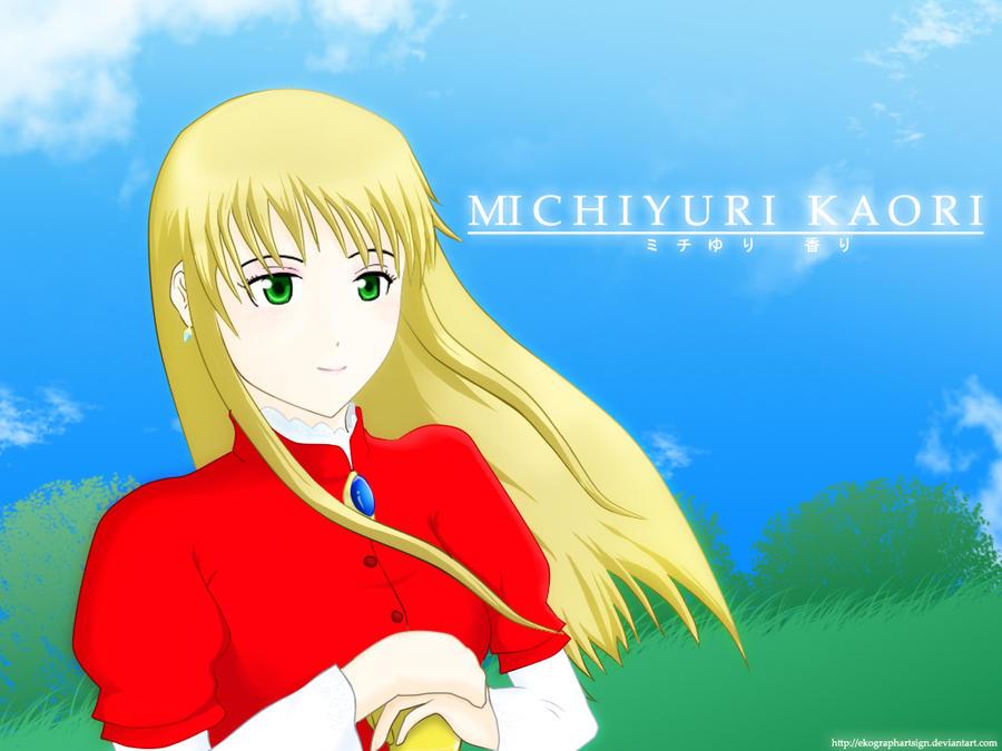 EkographartsigN Picture Michiyuri_kaori_wallpaper_by_ekographartsign-d2zhxxw