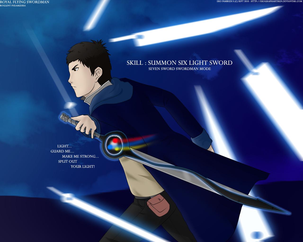 Anime CG from EKOGRAPHARTSIGN Royal_flying_swordman_by_ekographartsign-d2zmvex