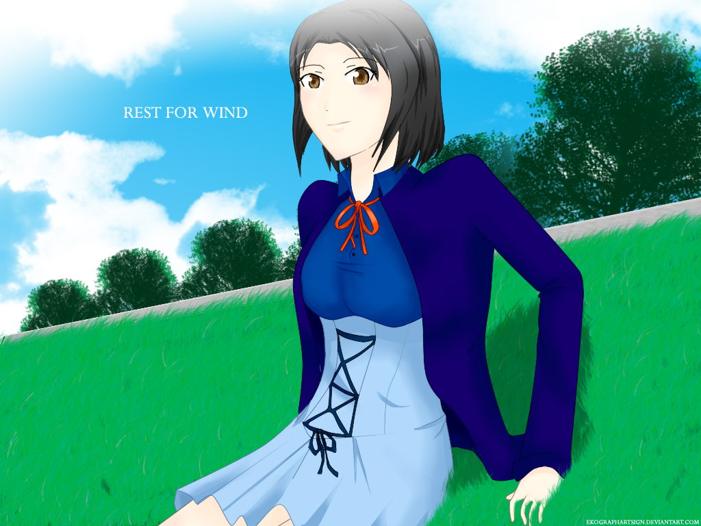 Anime CG from EKOGRAPHARTSIGN Rest_for_wind_by_ekographartsign-d2zue0l