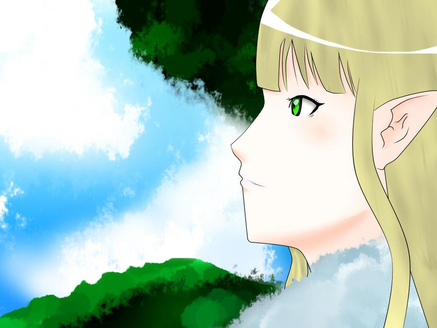Anime CG from EKOGRAPHARTSIGN Look_to_sky_by_ekographartsign-d3270qt