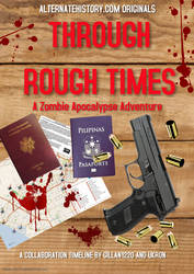 Through Rough Times - Book Cover by GodEmperorGillan
