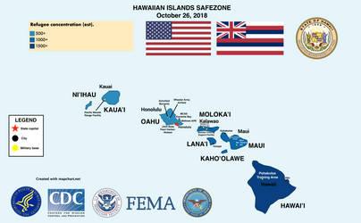 Hawaiian Islands Safezone (Through Rough Times) by GodEmperorGillan